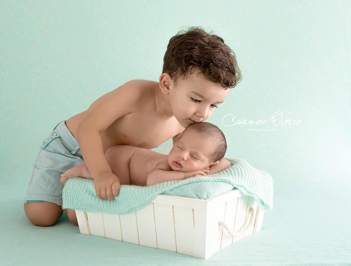 Fotógrafa bebés recién nacidos