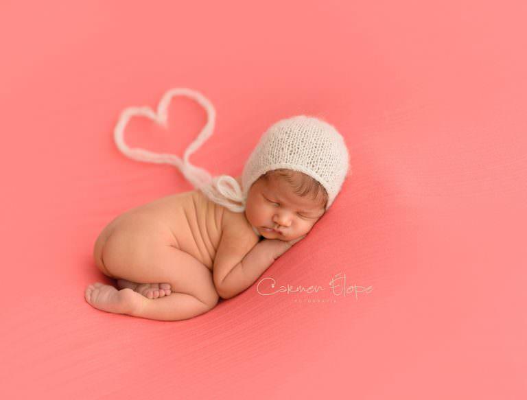 Fotografía de recién nacidos: Marta