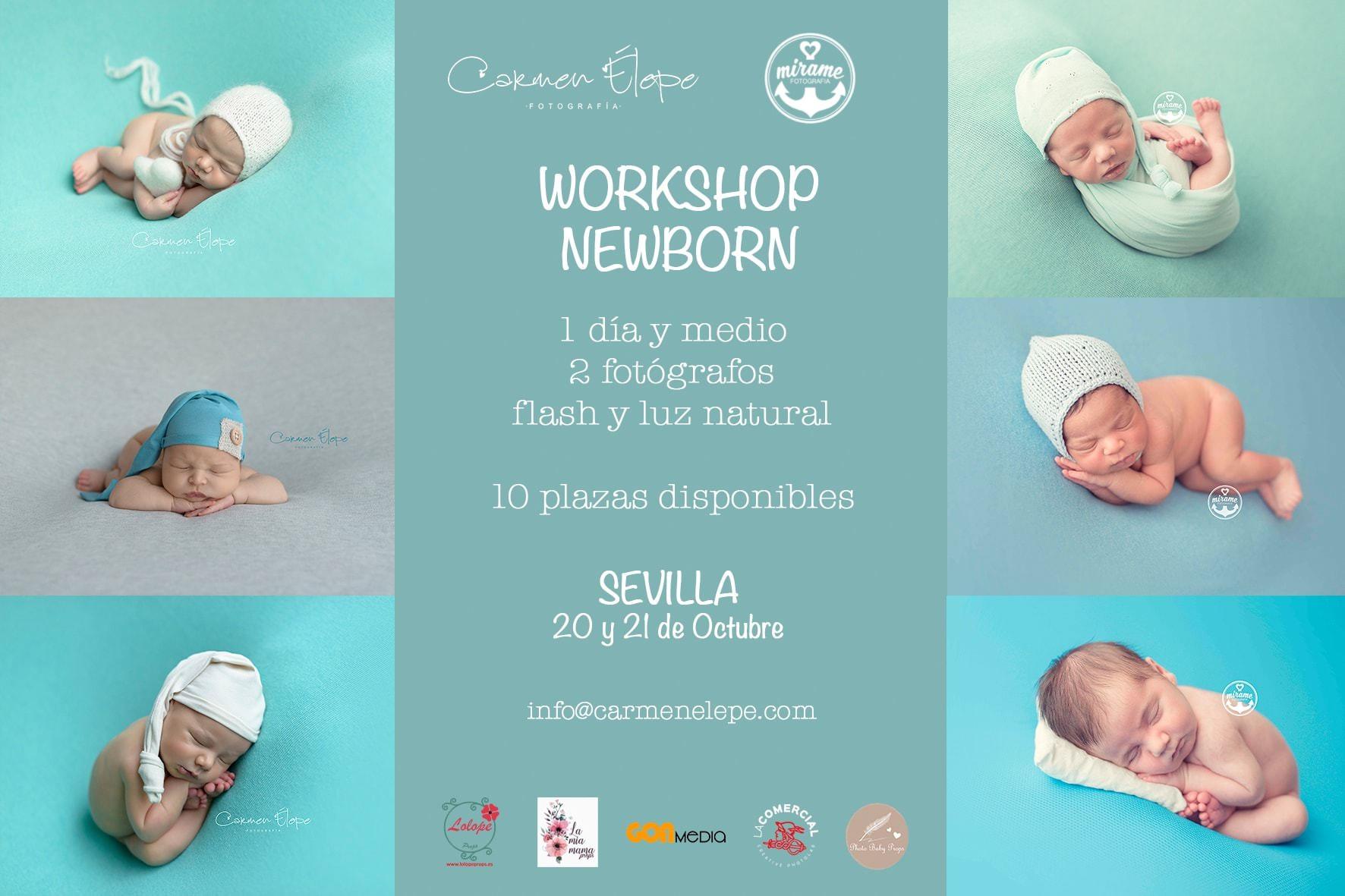 workshop fotografia newborn espana sevilla huelva granada carmen elepe mirame fotografia