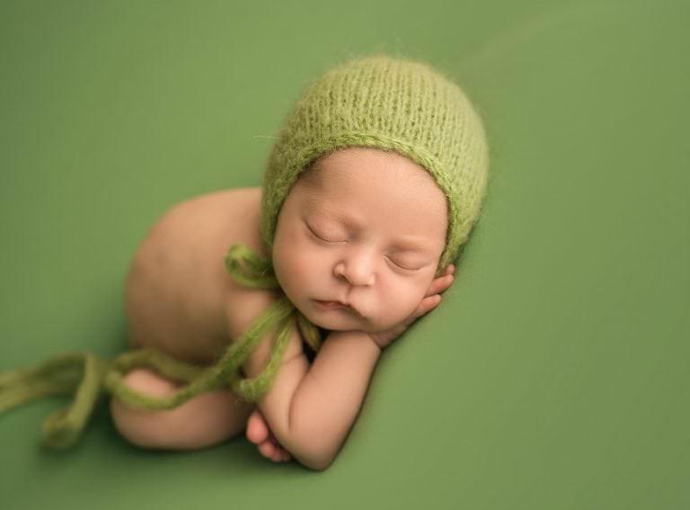 Sesion Newborn Murcia Carmen Elepe Fotografia Fotos Recien Nacido Bonitas Koala Verde Mint
